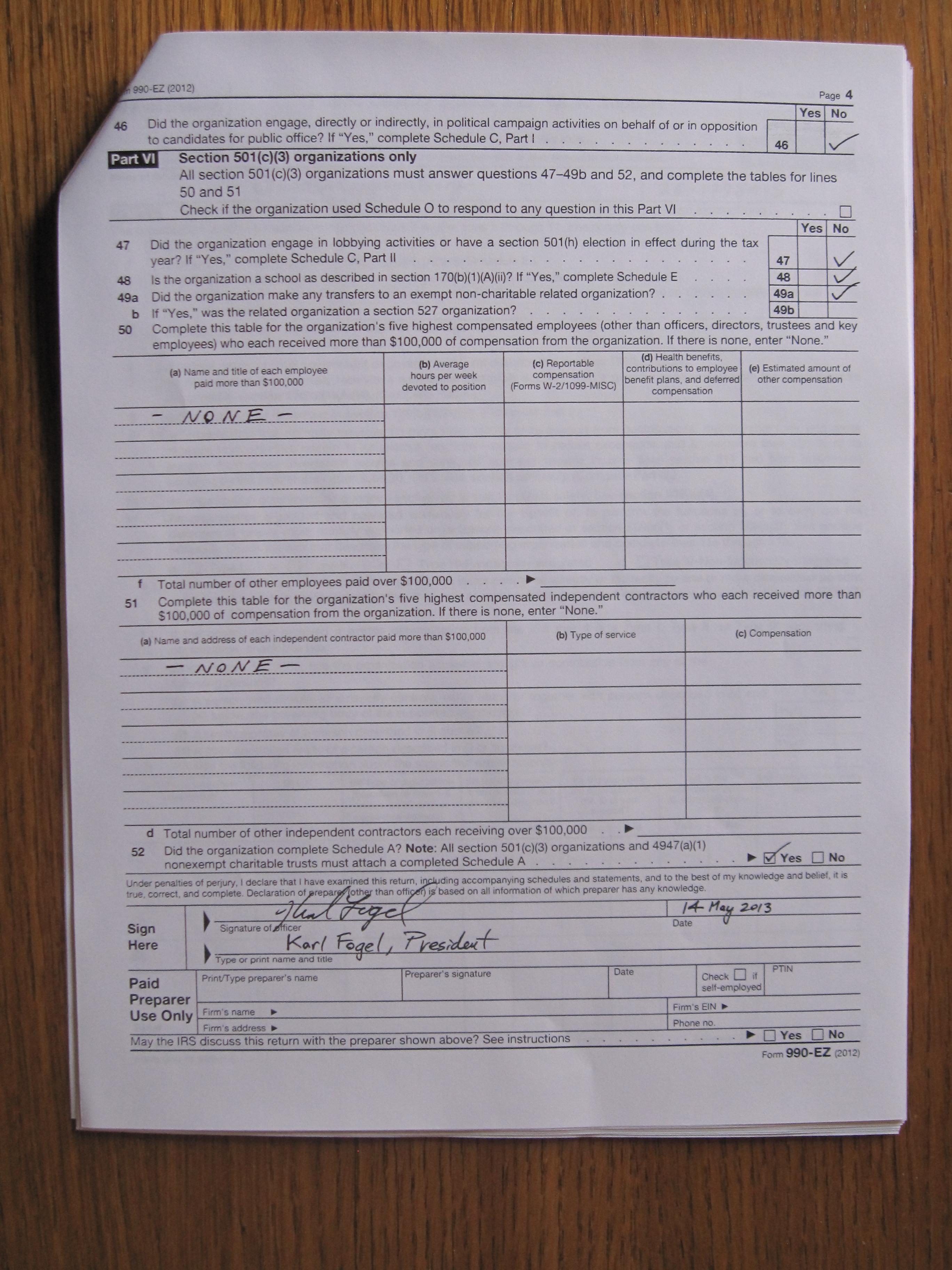 Corporate Documents Tax Returns Etc Questioncopyright