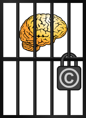 Brain in jail.