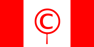 The Copyright Flag of Canada.
