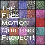 The Free Motion Quilting Project logo