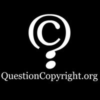 QuestionCopyright.com (c)ensorship shirt, back.