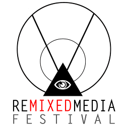 RE/Mixed Media Festival logo.