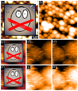 Striped nanoparticle images, except for the censored parts.