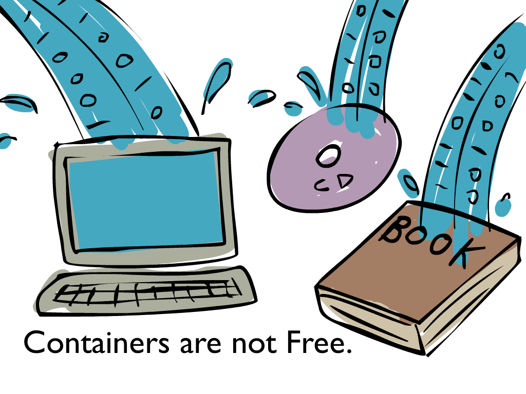 containers are not free