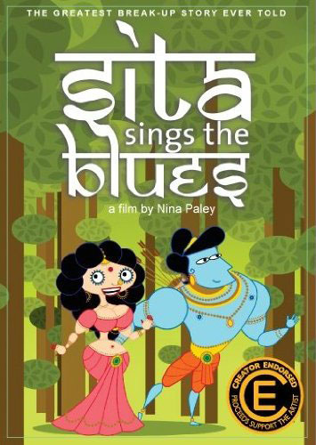 Sita Sings the Blues movie cover.